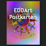 EDDArt Postkarten - powered by zazzle.com